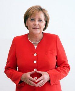 Angela Merkel Raute